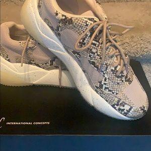 INC Snakeskin Sneakers